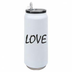 Puszka termiczna Love napis