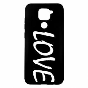 Etui na Xiaomi Redmi Note 9/Redmi 10X Love napis