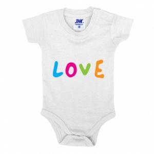 Body dla dzieci Love, color