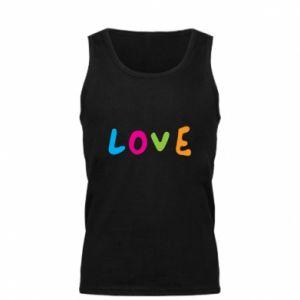 Męska koszulka Love, color