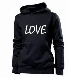 Bluza damska Love napis