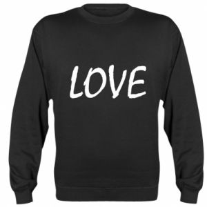 Bluza Love napis