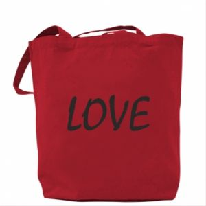 Torba Love napis