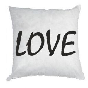 Poduszka Love napis