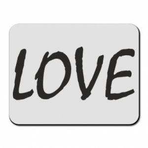 Podkładka pod mysz Love napis