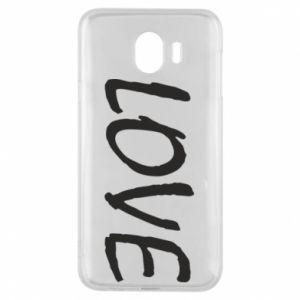 Etui na Samsung J4 Love napis