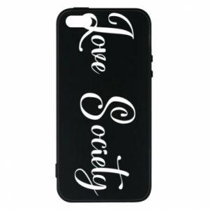 Etui na iPhone 5/5S/SE Love society
