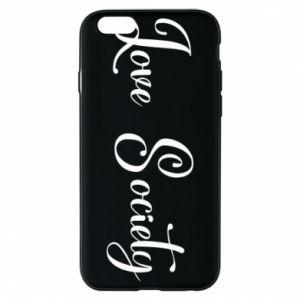 Etui na iPhone 6/6S Love society