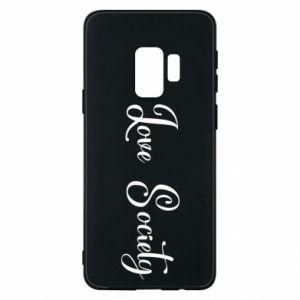 Etui na Samsung S9 Love society