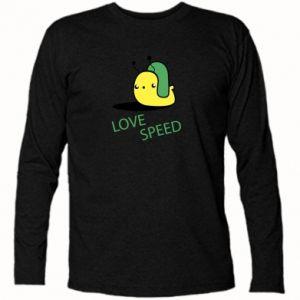 Koszulka z długim rękawem Love speed