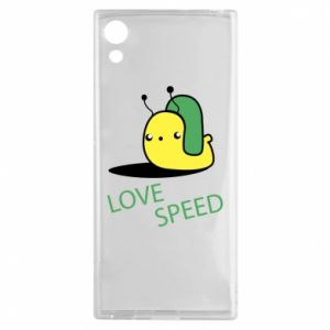 Sony Xperia XA1 Case Love speed