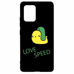 Samsung S10 Lite Case Love speed