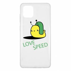 Samsung Note 10 Lite Case Love speed