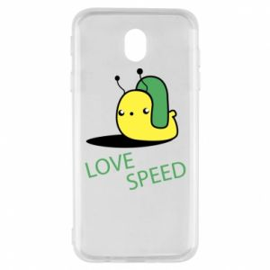 Samsung J7 2017 Case Love speed