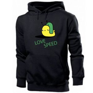 Men's hoodie Love speed
