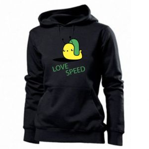 Women's hoodies Love speed