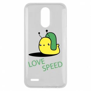 Lg K10 2017 Case Love speed