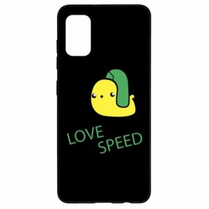 Samsung A41 Case Love speed