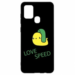 Samsung A21s Case Love speed