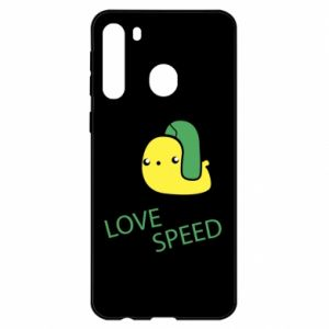 Samsung A21 Case Love speed