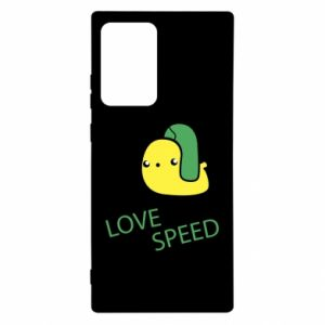 Samsung Note 20 Ultra Case Love speed