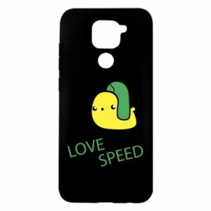 Xiaomi Redmi Note 9 / Redmi 10X case % print% Love speed