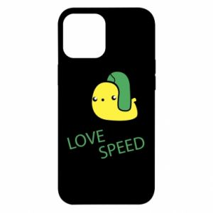 iPhone 12 Pro Max Case Love speed