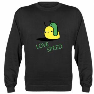 Sweatshirt Love speed