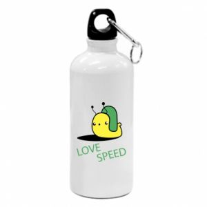 Water bottle Love speed