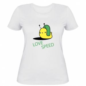 Women's t-shirt Love speed