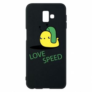 Samsung J6 Plus 2018 Case Love speed