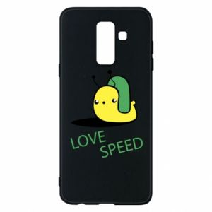 Samsung A6+ 2018 Case Love speed