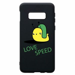 Samsung S10e Case Love speed
