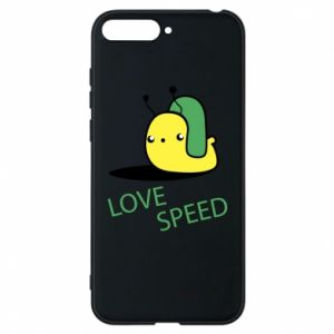 Huawei Y6 2018 Case Love speed