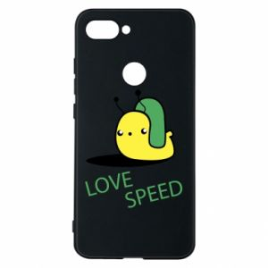 Xiaomi Mi8 Lite Case Love speed