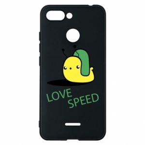 Xiaomi Redmi 6 Case Love speed