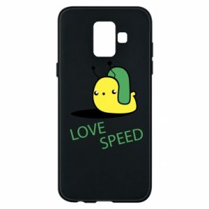 Samsung A6 2018 Case Love speed