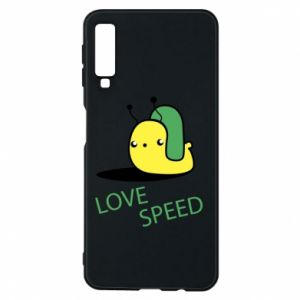 Samsung A7 2018 Case Love speed