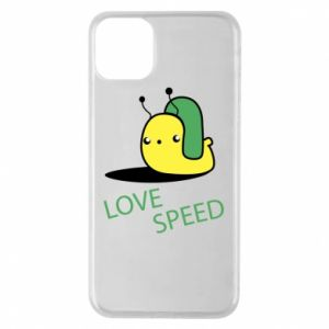 iPhone 11 Pro Max Case Love speed