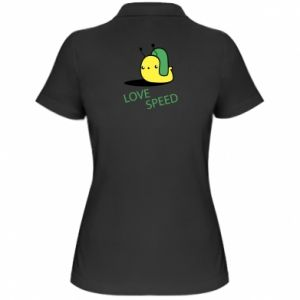Women's Polo shirt Love speed