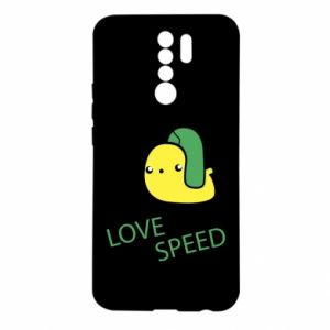 Xiaomi Redmi 9 Case Love speed