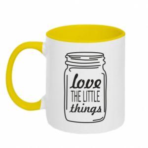Kubek dwukolorowy Love the little things