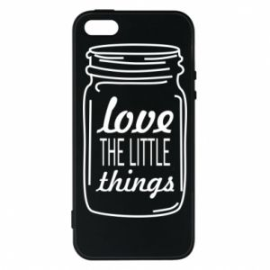 Etui na iPhone 5/5S/SE Love the little things