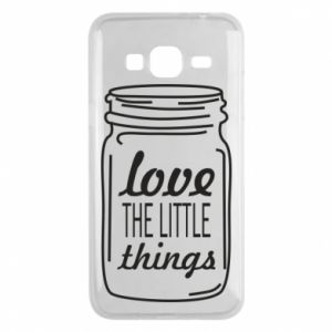 Etui na Samsung J3 2016 Love the little things