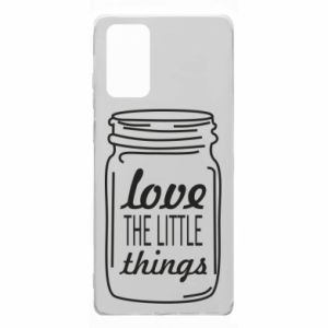 Etui na Samsung Note 20 Love the little things