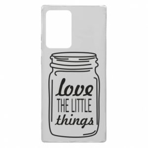Etui na Samsung Note 20 Ultra Love the little things