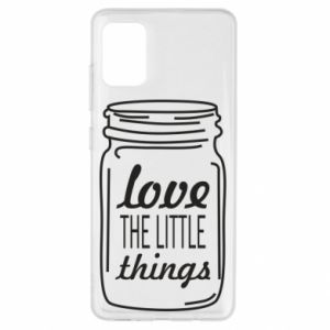 Etui na Samsung A51 Love the little things