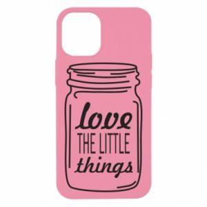 Etui na iPhone 12 Mini Love the little things
