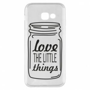 Etui na Samsung A5 2017 Love the little things