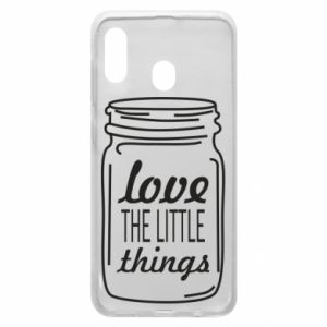 Etui na Samsung A20 Love the little things